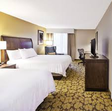 gallery image of this property a bed or beds in a room at hilton garden inn cleveland downtown