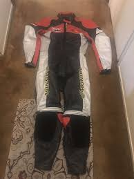 honda rider collection full leather motorcycle suit