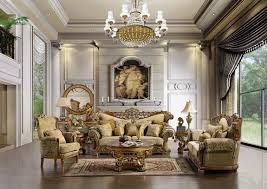 round living room furniture. Traditional Mid Century Living Room Furniture Round With Wood Pattern Wall Mirror Victoria Palace Trim Settee Gold Crystal Chandelier Dressed G