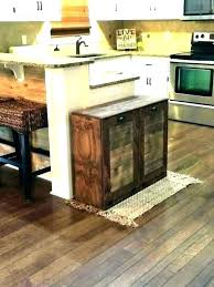 garbage can storage plans garbage can storage bin wooden trash bin for kitchen wooden trash can