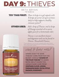 Thieves Oil Dilution Day 9 How To Use Thieves Essential Oil Welcome To Beths Yl Website