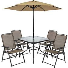Outdoor dining sets with umbrella Backyard Image Unavailable Amazoncom Amazoncom Best Choice Products 6piece Outdoor Folding Patio