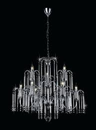 chandeliers 9 light chandelier ch chrome and crystal cavalier black