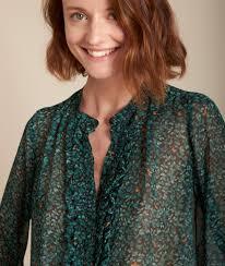 Maggie <b>leaf print</b> blouse <b>Women</b>   Maison 123