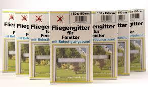K B Haushaltswaren Fliegengitter Für Fenster Schwarzweiß Je