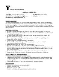 Business Administration Resume Samples Administrative Manager