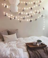 How To Hang String Lights From Ceiling Magnificent 32 Ways To Decorate With String Lights For The Coolest Bedroom