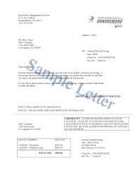 Dunsdemand Sample Letters D B Debt Collection