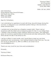 Legal Cover Letter Examples Cover Letter Now