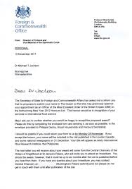 Awesome Collection Of Obe Letter Of Nomination For Your Dea Agent