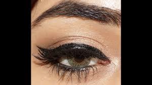 adele inspired glamorous winged liner eye makeup tutorial clista