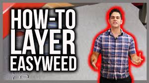 <b>Layering</b> EasyWeed HTV - YouTube