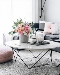 round side tables for living room 18 white marble coffee tables we love
