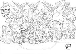 Pokemon Coloring Pages For Adults Courtoisiengcom