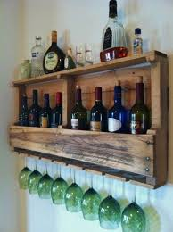 wine rack reclaimed wood rustic primitive handcrafted by great lakes reclaimed