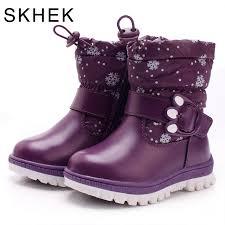 Buy SKHEK Winter Children Rubber Boots Boys ... - Aliexpress.com