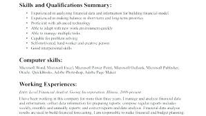 Finance Resume Objective Examples Resume Bank Teller Resume