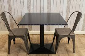 industrial restaurant tables handmade to order vine style steel amazing of vine cafe table and chairs