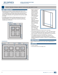 installation instructions jeld wen jii103 bifold doors user manual page 2 9