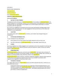 Agreement Letter Examples Examples Agreements Letter Intent Hr ...