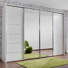 White Wardrobe With Sliding Doors Closet Doorswhite Beautiful ...