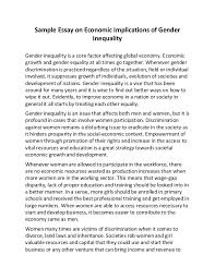 essay on inequality in  how can poverty and inequality in economics essay