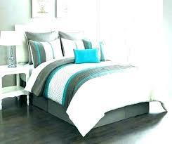teal and brown comforter green king set blue sets size bedding gold