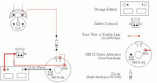 delco remy alternator wiring diagram Delco Remy Alternator Wiring Schematic chevy starter hook up delco remy alternator wiring diagram