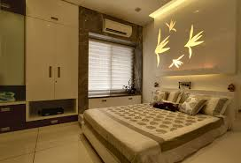 Contemporary Bedroom interiors designed by Hyderabad's leading interior  designers, Finesse Interiors & Refurbishers Ent.