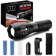 Water Light Flashlight New Led Tactical Flashlight High Lumen Zoomable
