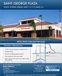 office space for lease flyer retail space for lease hemet commercial real estate inland empire