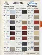 2003 Porsche Paint Color Sample Chips Card Oem Colors For