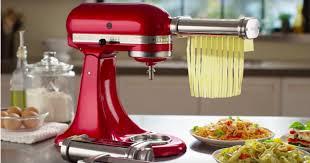 kitchenaid 3 piece pasta roller cutter attachment set only 99 99 regularly 160 hip2save