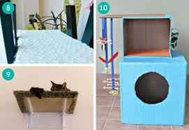 Diy cat playhouse Castle Diy Cat Tree Cat Shelves Cat House Meows n Paws 10 Cat Furniture Diys That Youll Want To Try Today Meows n Paws
