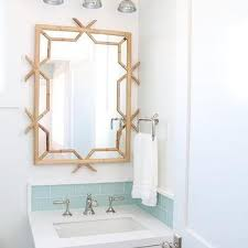 wooden bamboo bathroom mirror design ideas
