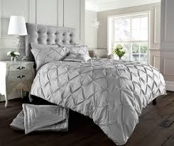 luxury duvet cover set double super king size bedding white black silver cream 1 of 1free