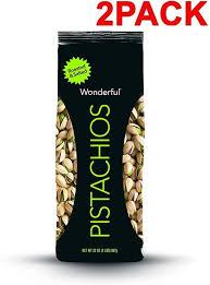 Wonderful Pistachios Roasted Lightly Salted 16 Oz Wonderful Pistachios Roasted And Salted 32 Ounce Bag