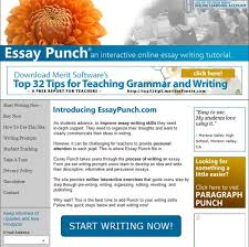 school hacks these are the best writing tools for essays we found essay punch is a website that provides interactive tutorials to teach students how to get through the essay writing process through the use of writing