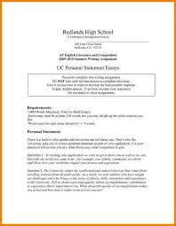 personal statement examples for uc pay statements personal statement examples for
