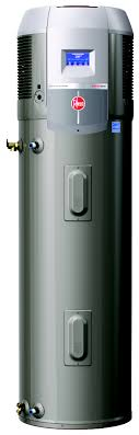rheem water heater electric. this rheem prestige series hybrid heat pump water heater costs about $16 a month to operate.the electric