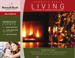December 2013 newsletter by The Club at Hammock Beach - issuu