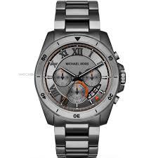 """michael kors watches michael kors uk watch shop comâ""""¢ mens michael kors brecken chronograph watch mk8465"""