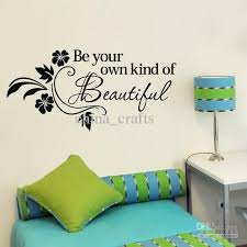 38x80cm be own kind of beautiful wall art stickers living room wall quotes decals home wall on home wall art quotes with 38x80cm be own kind of beautiful wall art stickers living room wall