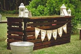 20 diy outdoor pallet bars you can make