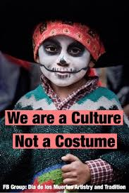 seems to have the most cases of cultural appropriation with people dressing up in black face brown face and so on