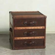 3 Draw Steamer Trunk/end Table