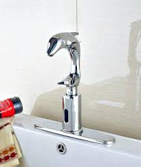 motion sensor faucet. Motion Sensor Faucet Hands Free Dolphin Shaped Bathroom Sink With Moen O