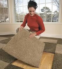 residential carpet tiles. Carpet Tiles Being Installed Indoors Residential R