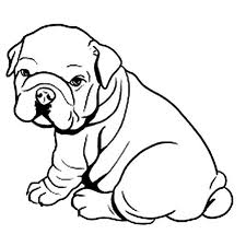 Small Picture 8 Pics Of Animal Coloring Pages Bulldog Bulldog Coloring Pages
