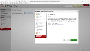 WordPress installieren - Febas